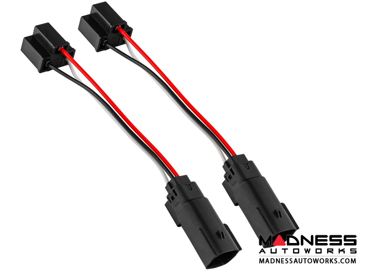 Jeep Wrangler JL Plug & Play H4 Wiring Harness - Pair